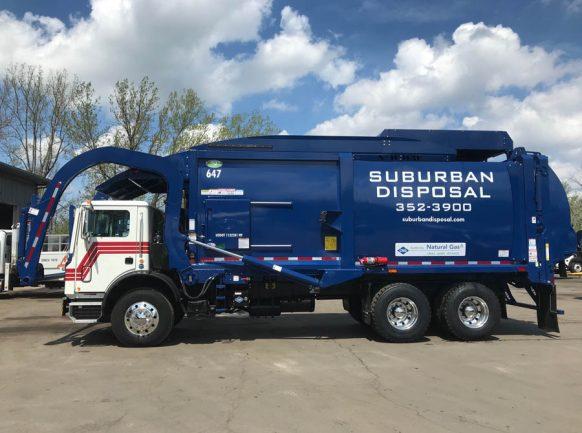 front loader-suburban